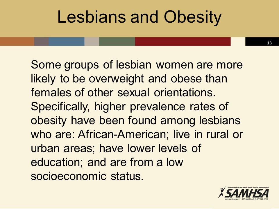 Lesbians and Obesity