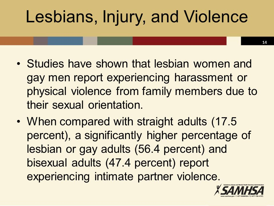 Lesbians, Injury, and Violence