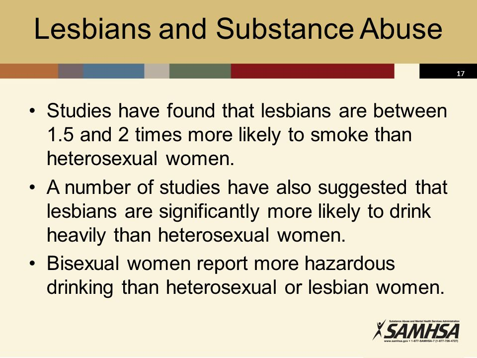 Lesbians and Substance Abuse