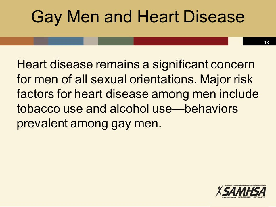 Gay Men and Heart Disease