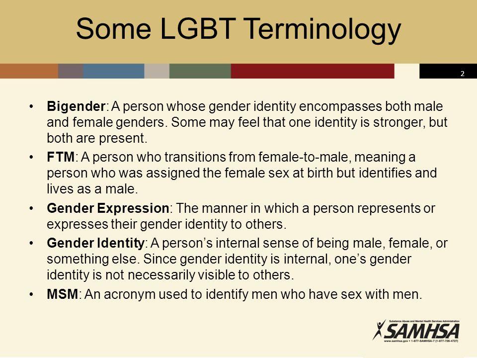 Some LGBT Terminology