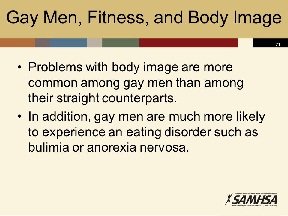 Gay Men, Fitness, and Body Image