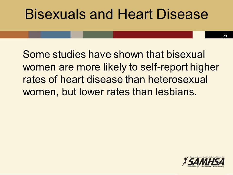Bisexuals and Heart Disease