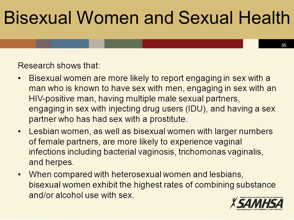 Bisexual Women and Sexual Health