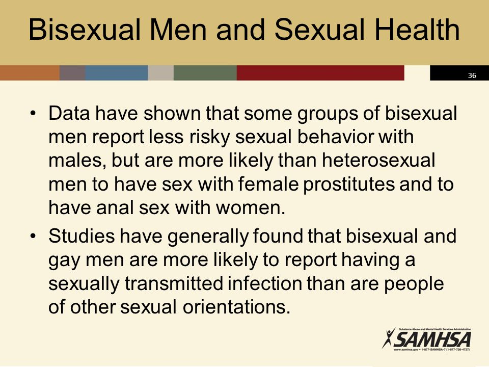 Bisexual Men and Sexual Health