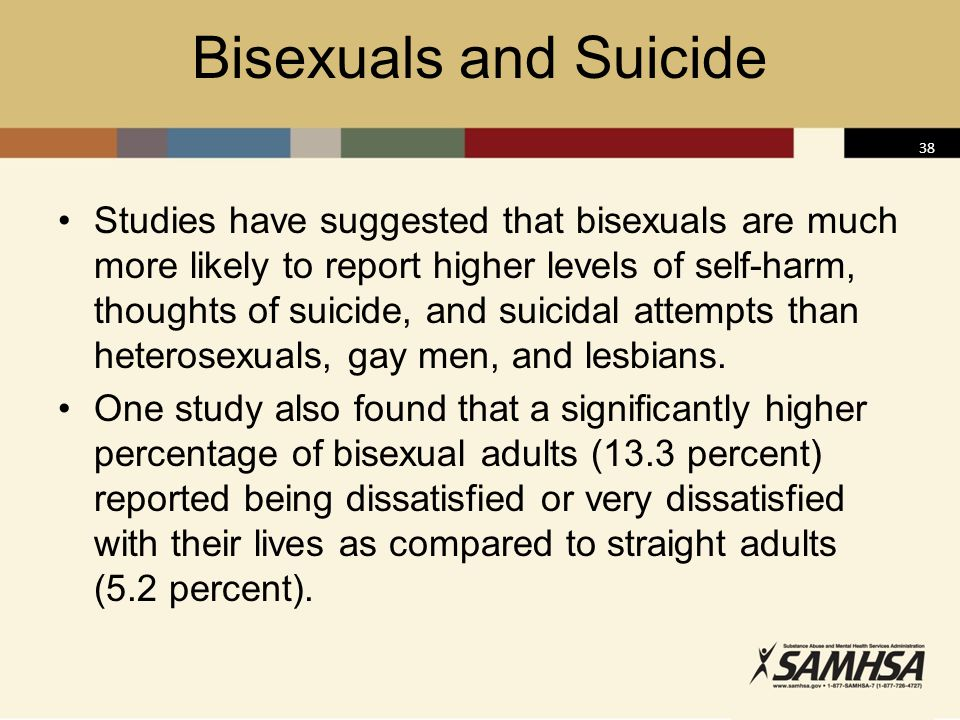 Bisexuals and Suicide