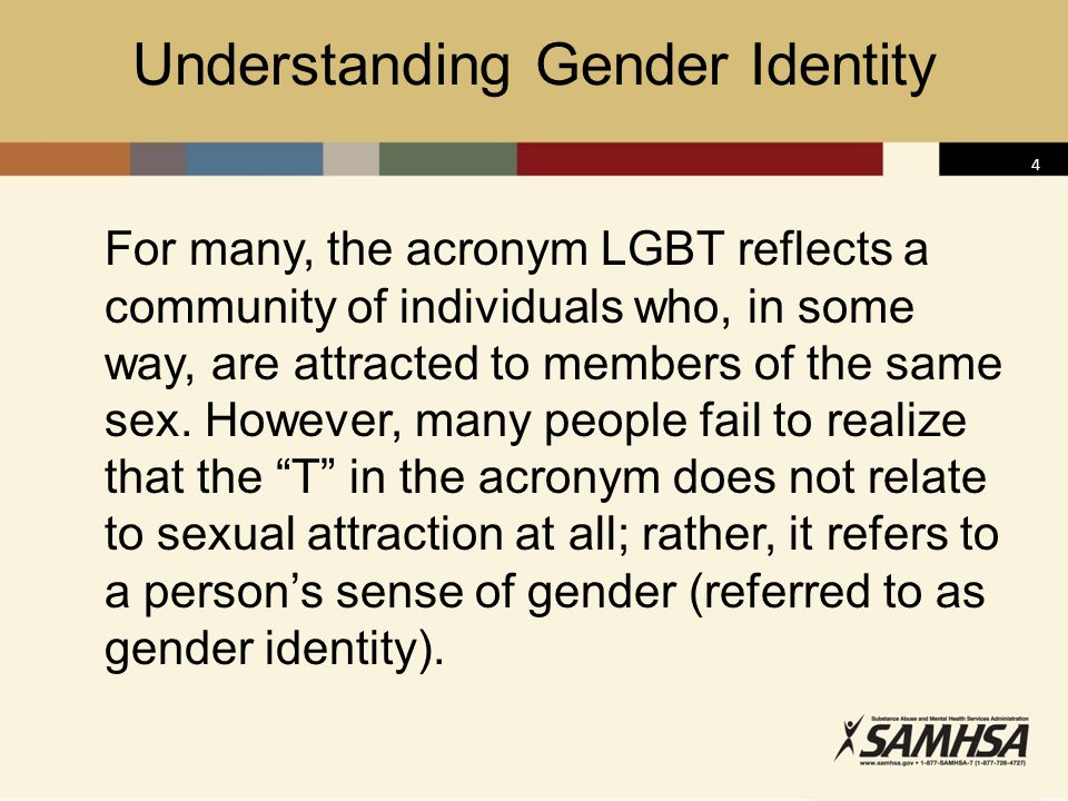 Understanding Gender Identity