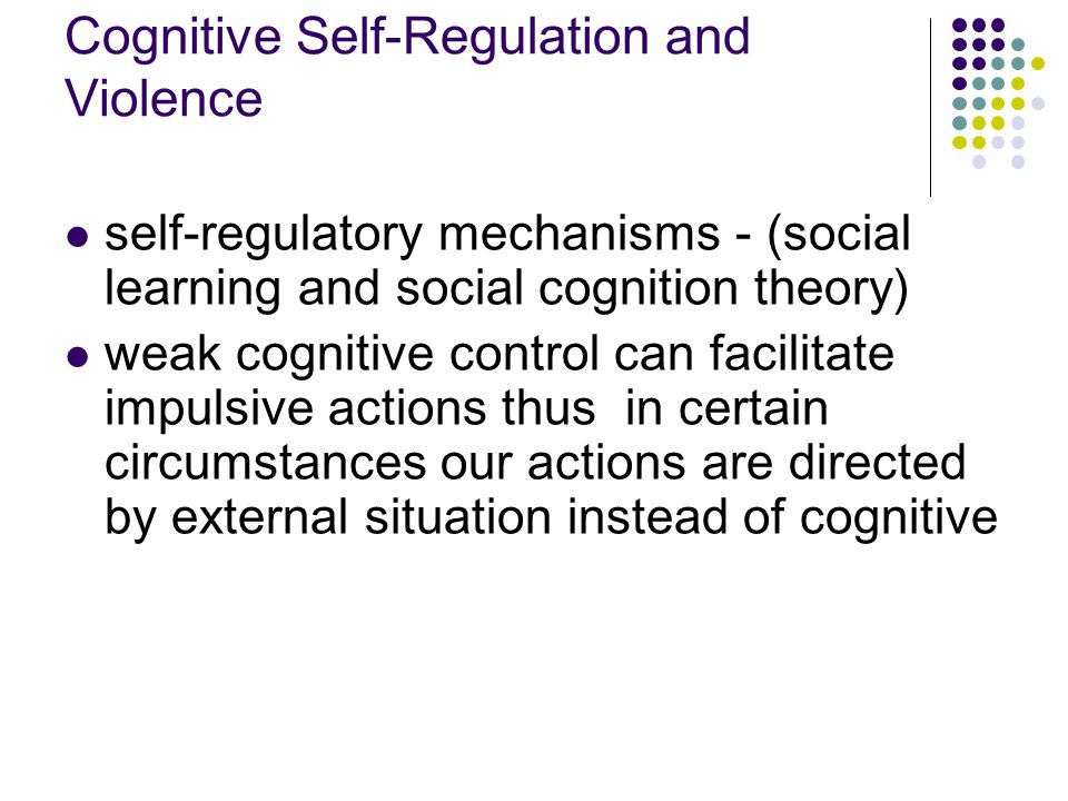 social learning theory and violence 1institute for social research, university of michigan, ann arbor, michigan   according to observational-learning theory, when violence is.