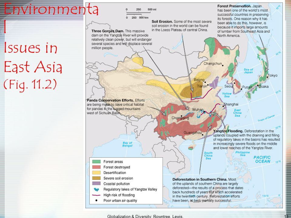 Environmental Issues in East Asia (Fig. 11.2)