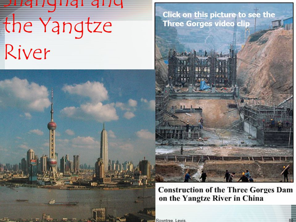 Shanghai and the Yangtze River
