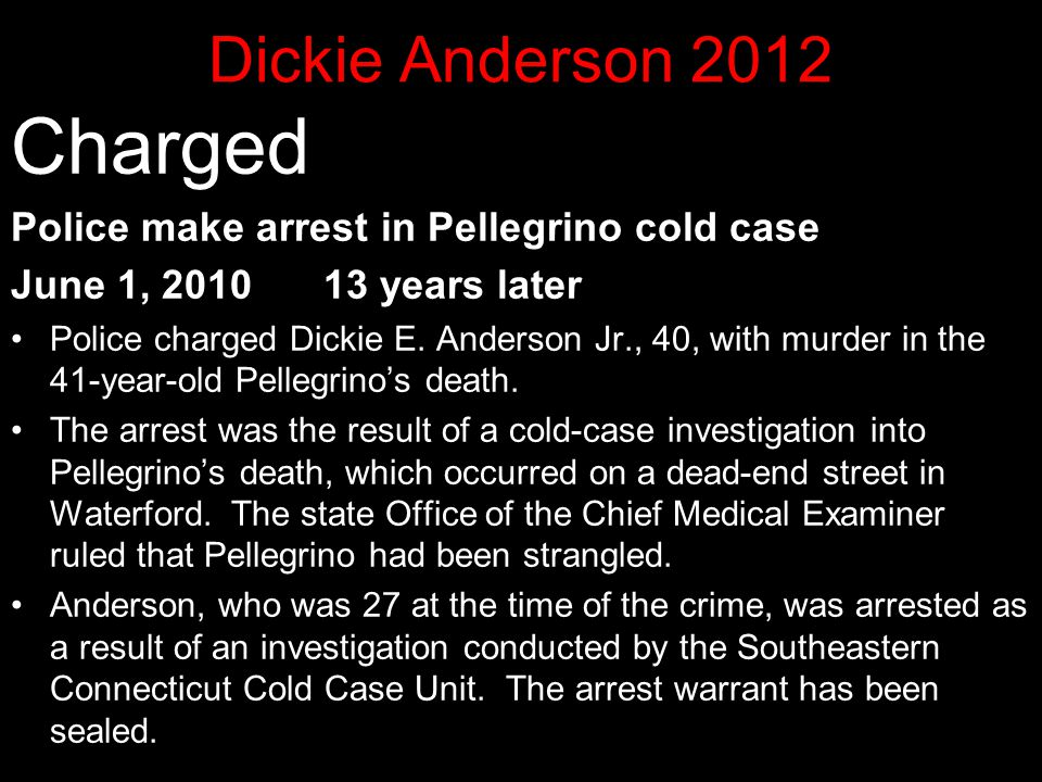 Charged Dickie Anderson 2012