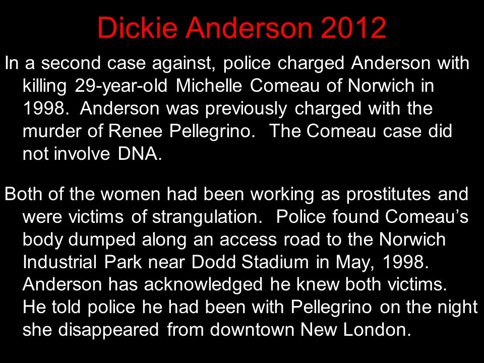 Dickie Anderson 2012