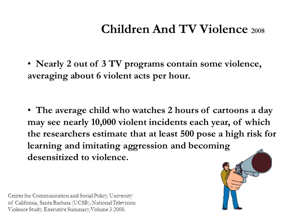 Children And TV Violence 2008