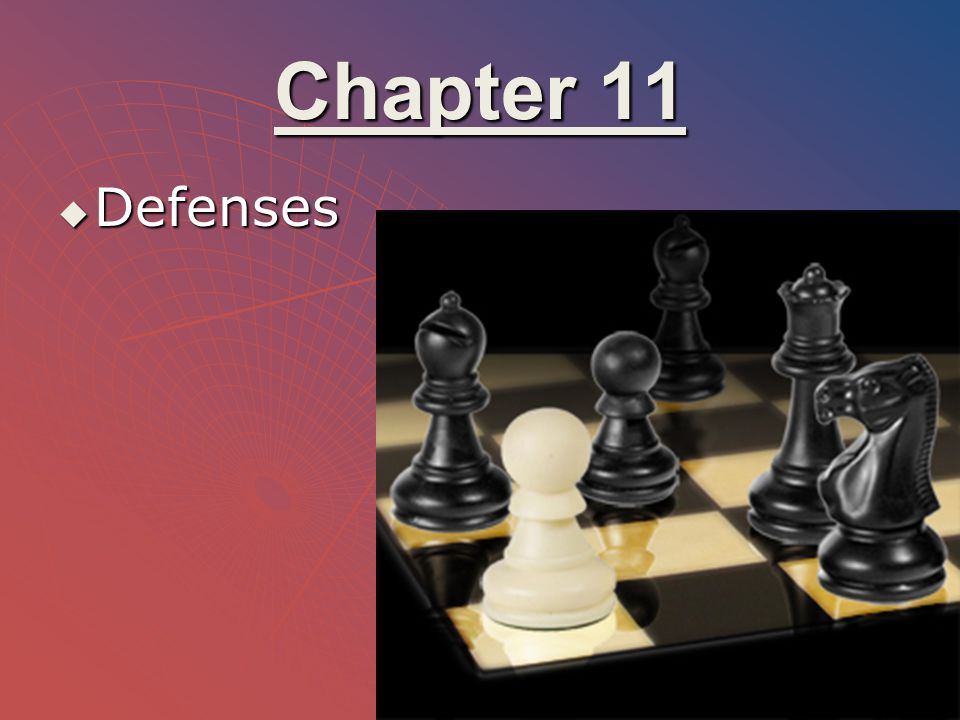Chapter 11 Defenses