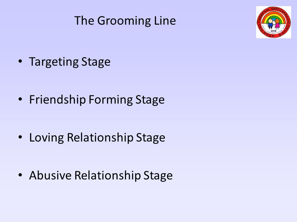 Friendship Forming Stage Loving Relationship Stage