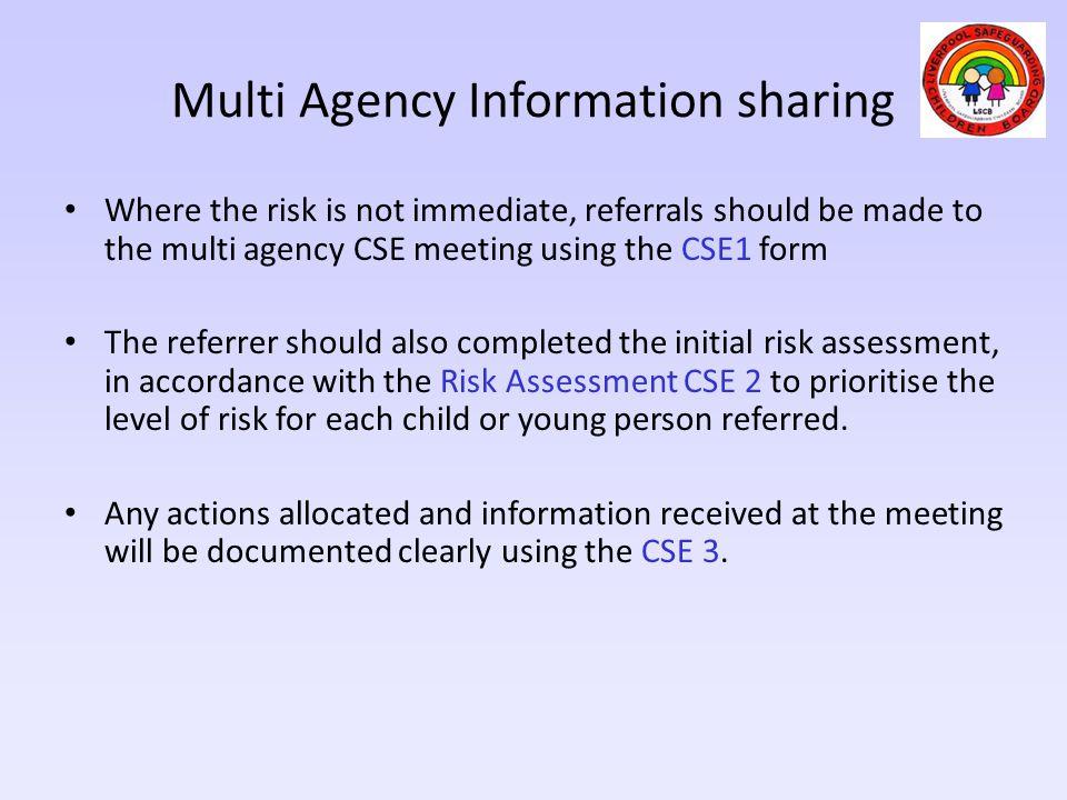 Multi Agency Information sharing