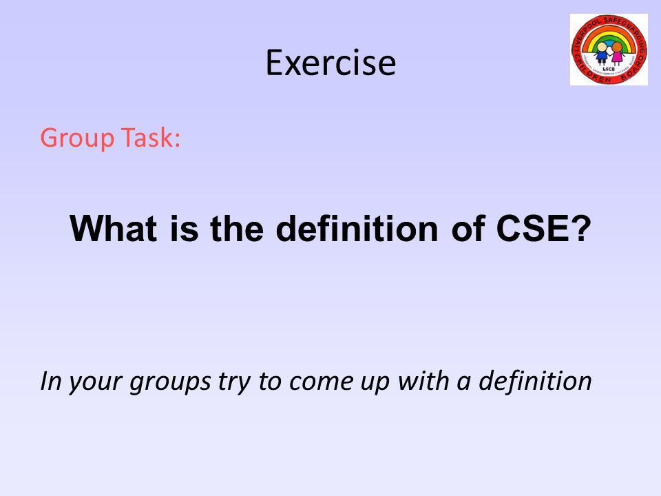 What is the definition of CSE