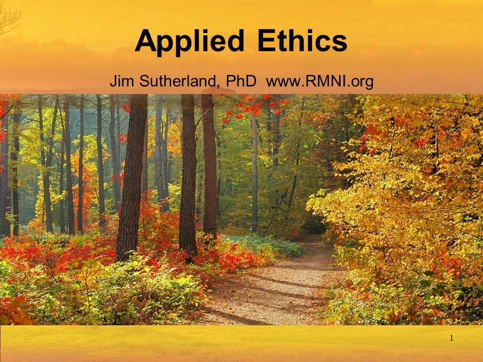 Jim Sutherland, PhD www.RMNI.org