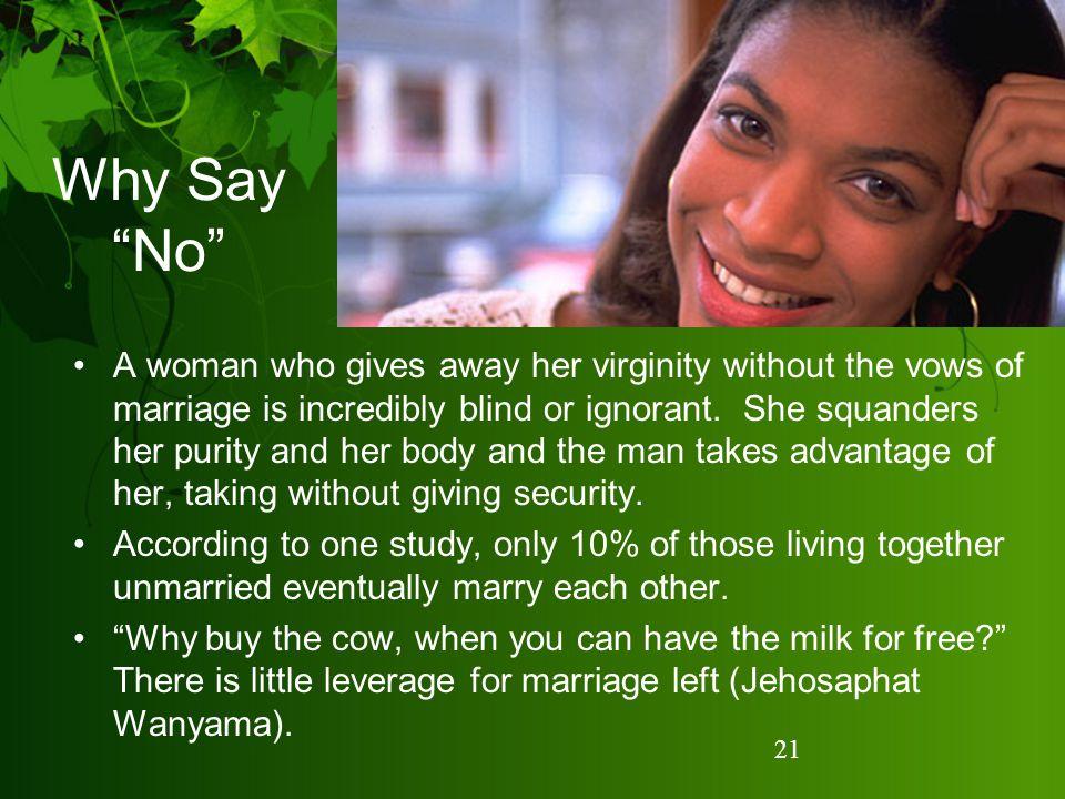 Why Say No