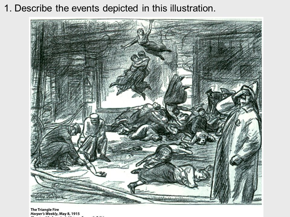 1. Describe the events depicted in this illustration.