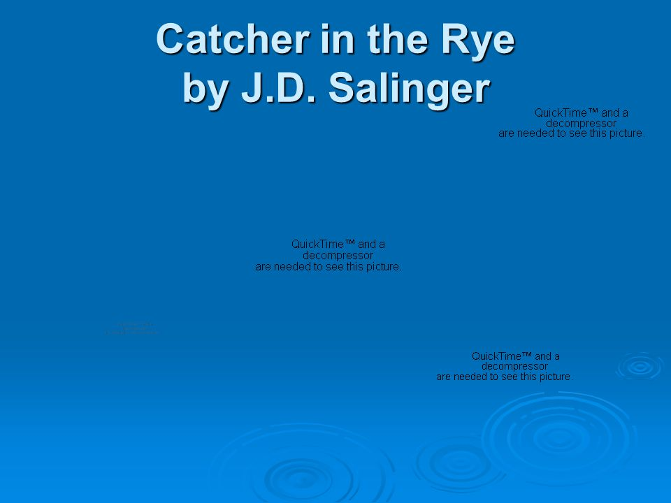 catcher in the rye rhetorical analysis I am writing an essay about how i believe that the catcher in the rye should not have been banned how it's not so bad considering all the media and everything around now.