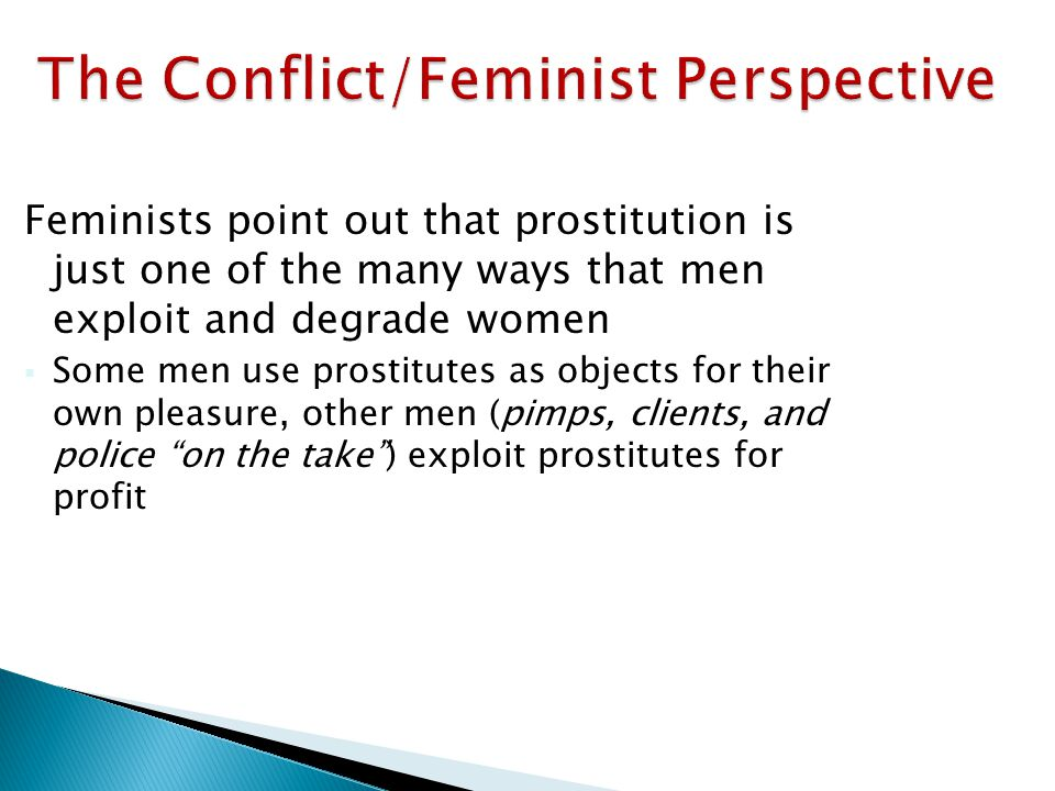 The Conflict/Feminist Perspective