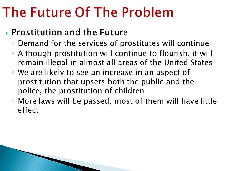 The Future Of The Problem
