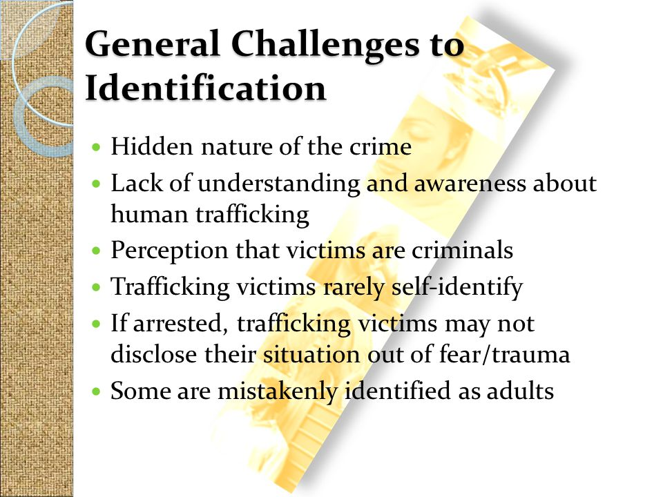 General Challenges to Identification