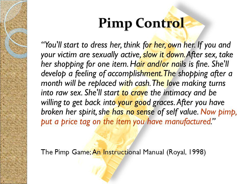 Pimp Control