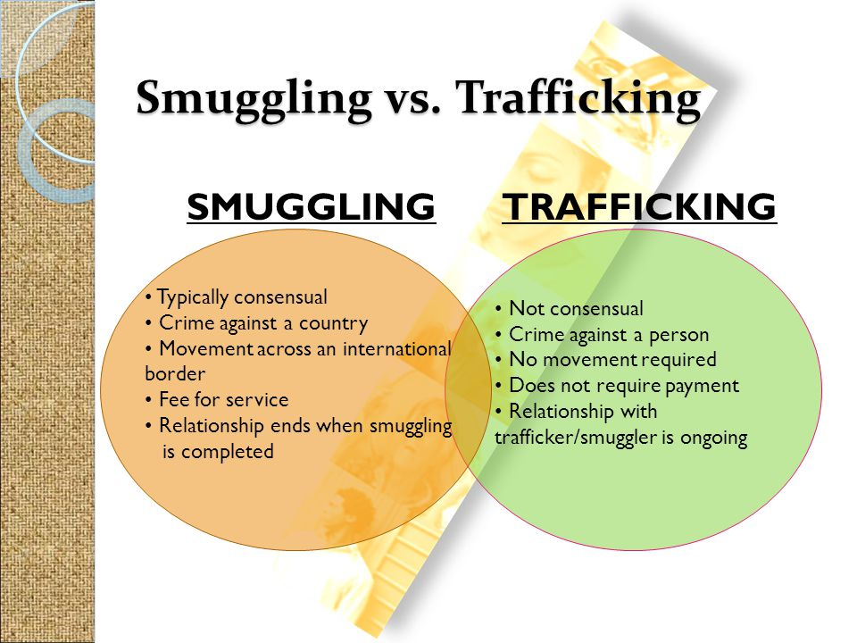 Smuggling vs. Trafficking
