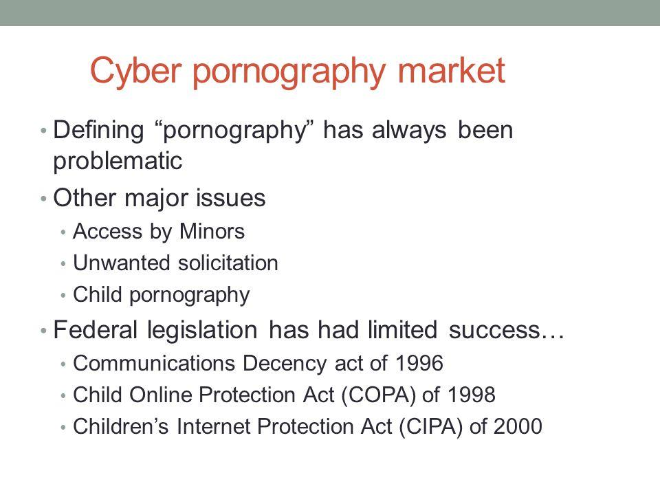Cyber pornography market