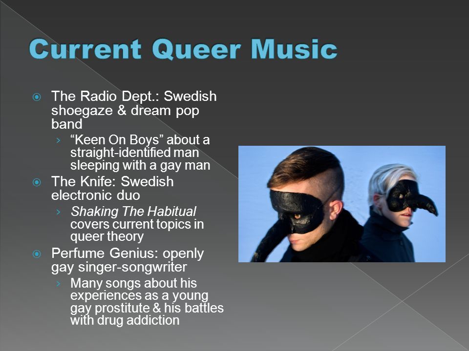 Current Queer Music The Radio Dept.: Swedish shoegaze & dream pop band