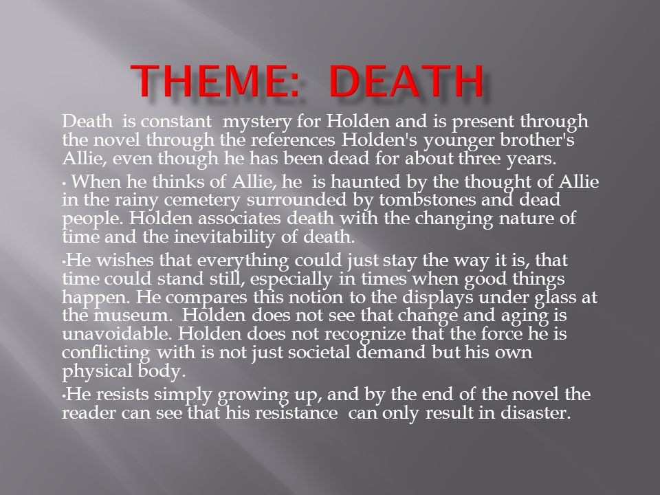 Theme: Death