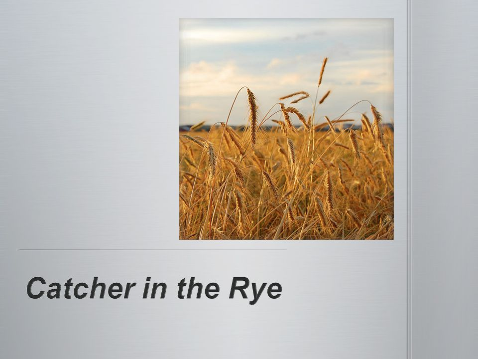 the catcher in the rye alienation essay Get access to the catcher in the rye isolation essays only from anti essays listed results 1 - 30 alienation in catcher in the rye.