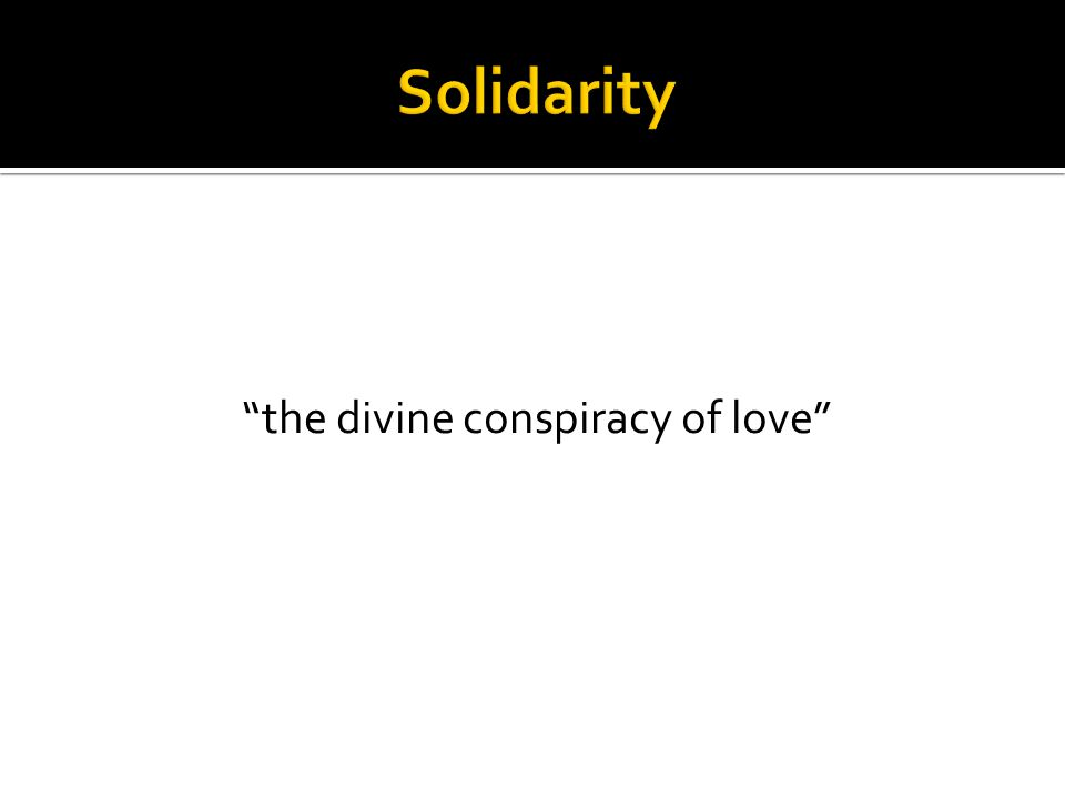 the divine conspiracy of love