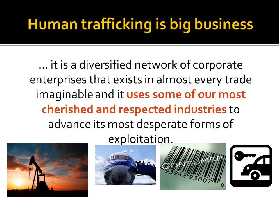 Human trafficking is big business