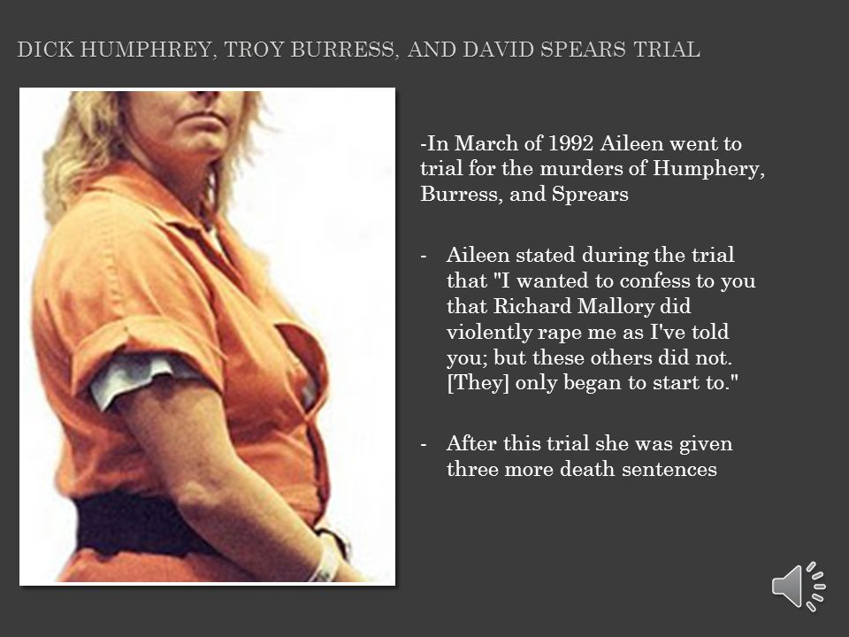 Dick Humphrey, Troy Burress, and David spears trial