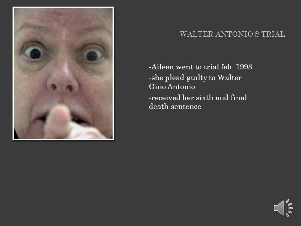 Walter Antonio's trial