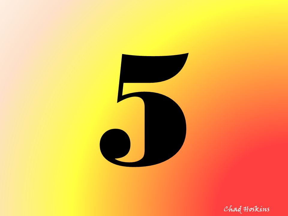 5 Chad Hoskins