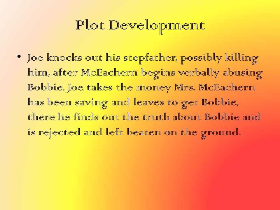 Plot Development
