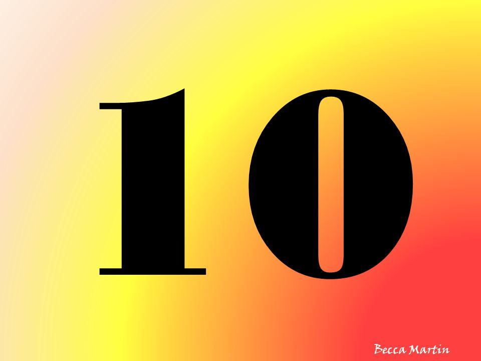 10 Becca Martin