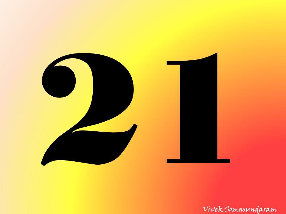 21 Vivek Somasundaram
