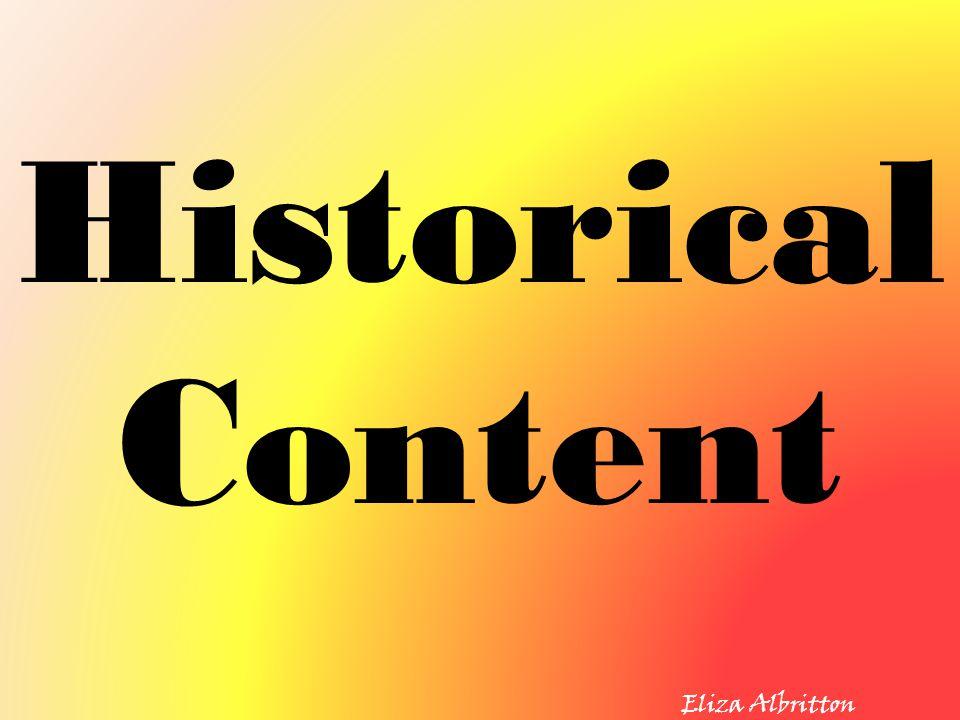 Historical Content Eliza Albritton