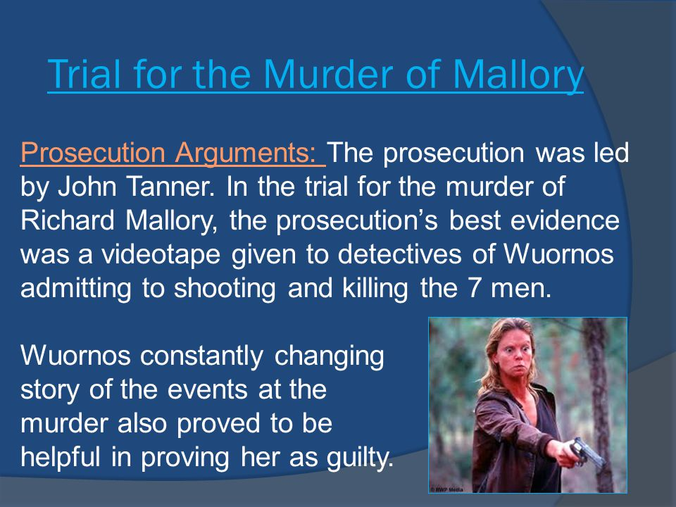 Trial for the Murder of Mallory