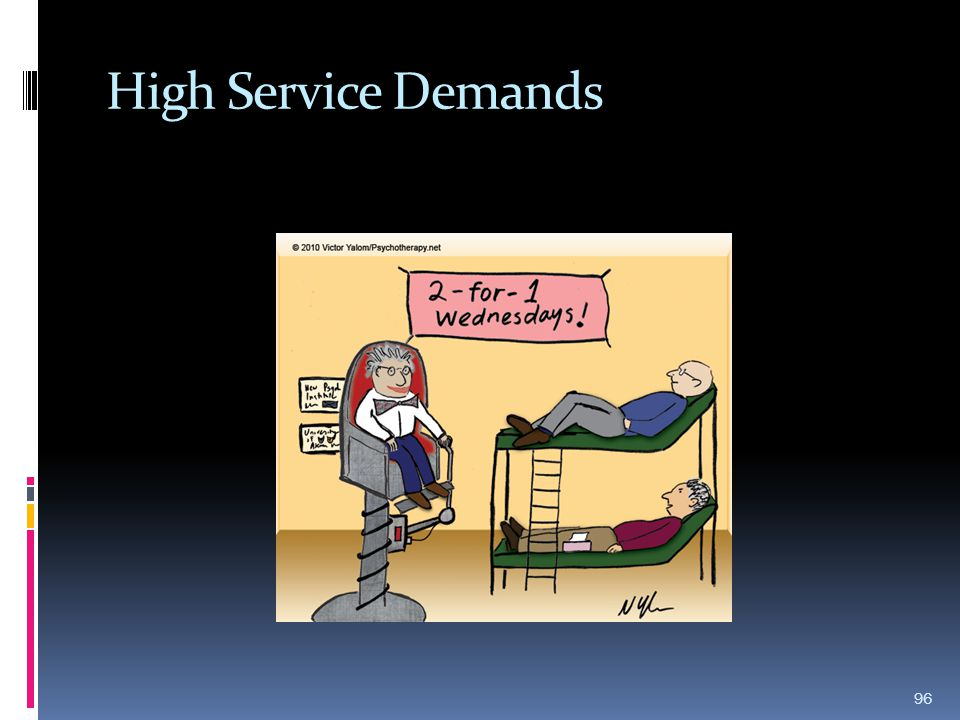 High Service Demands