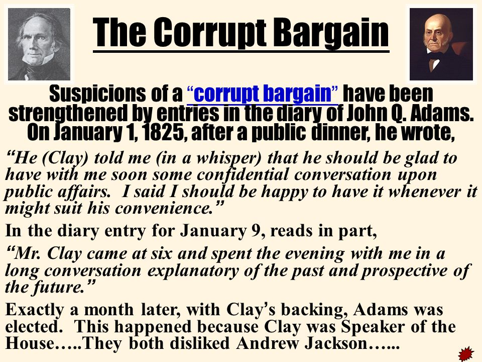 corrupt1 The Corrupt Bargain.