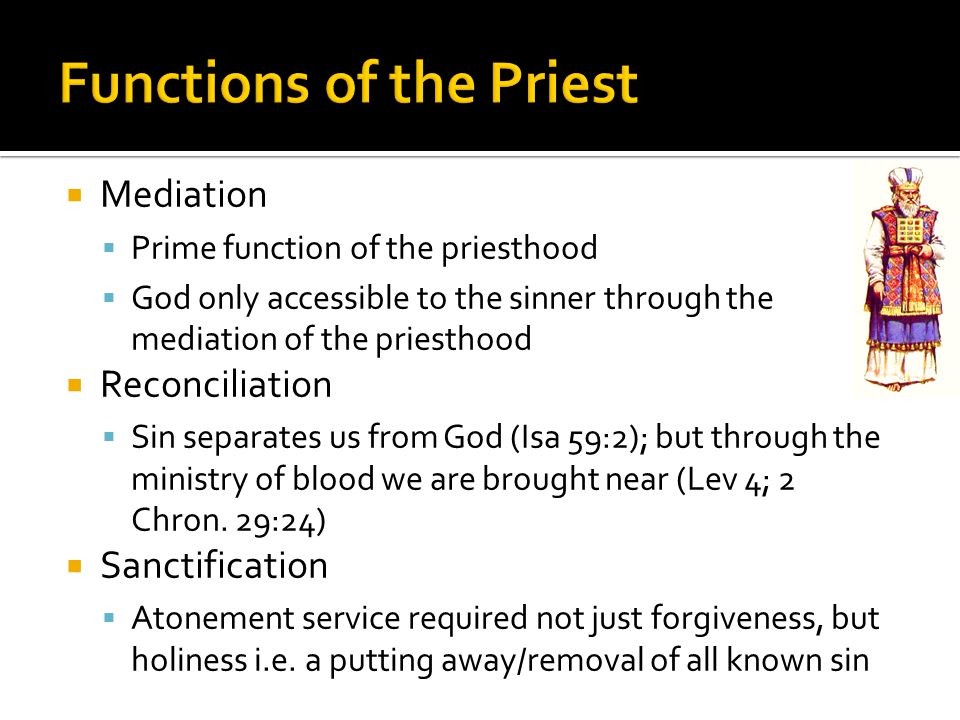 Functions of the Priest