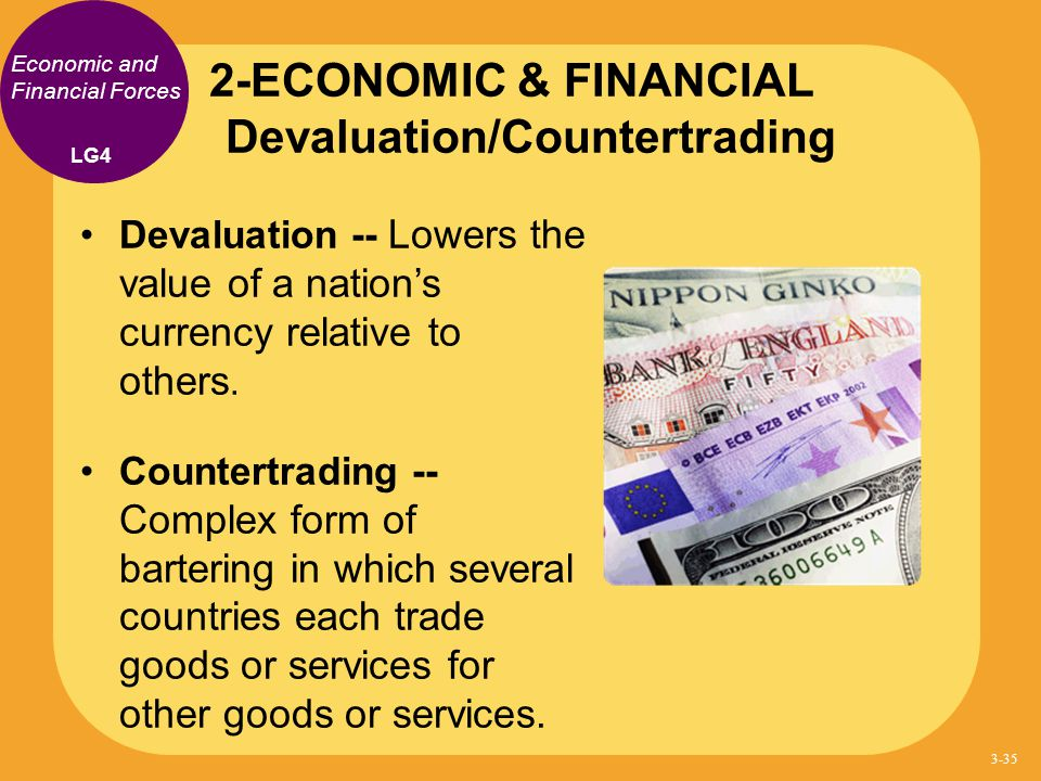 2-ECONOMIC & FINANCIAL Devaluation/Countertrading