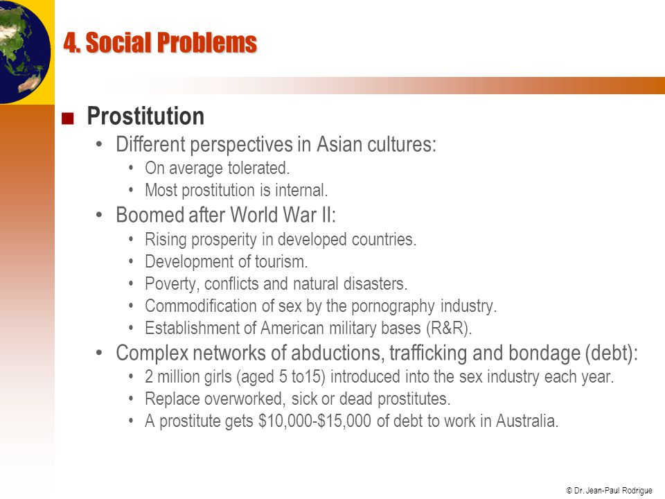 4. Social Problems Prostitution