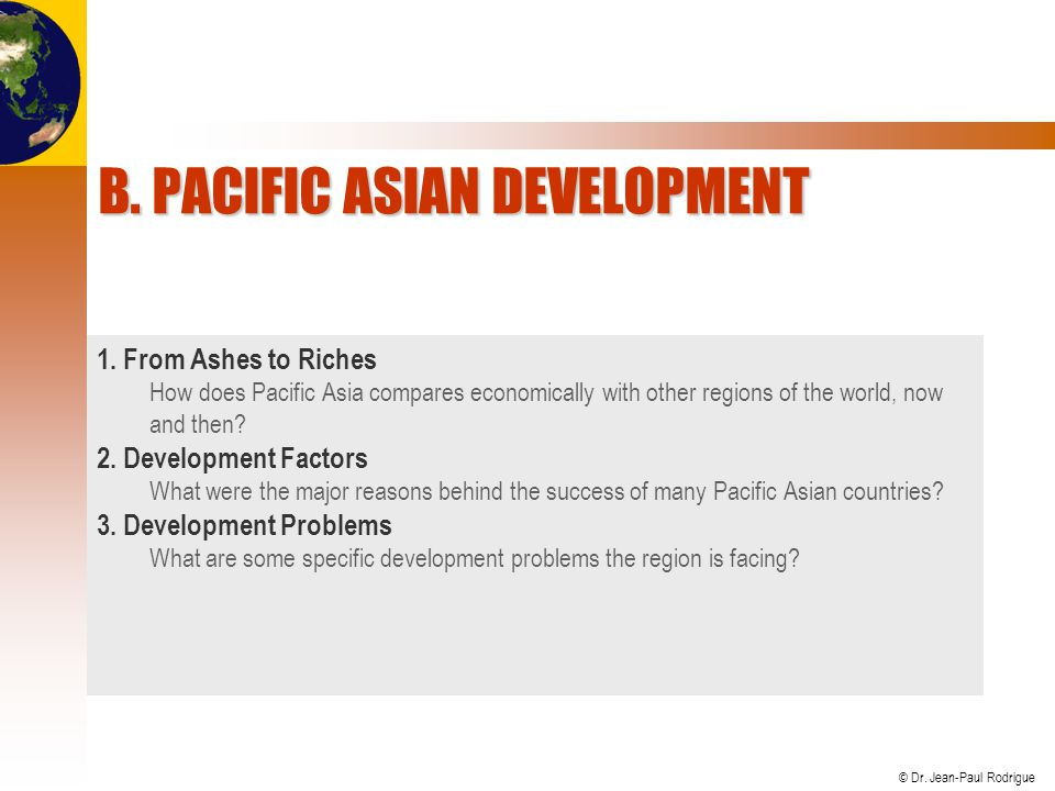 B. Pacific Asian Development
